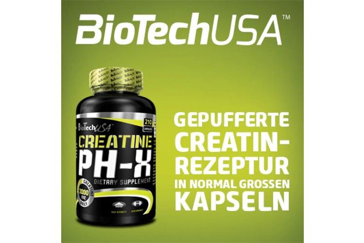 Biotech USA 13008020000 Créatine pHX test