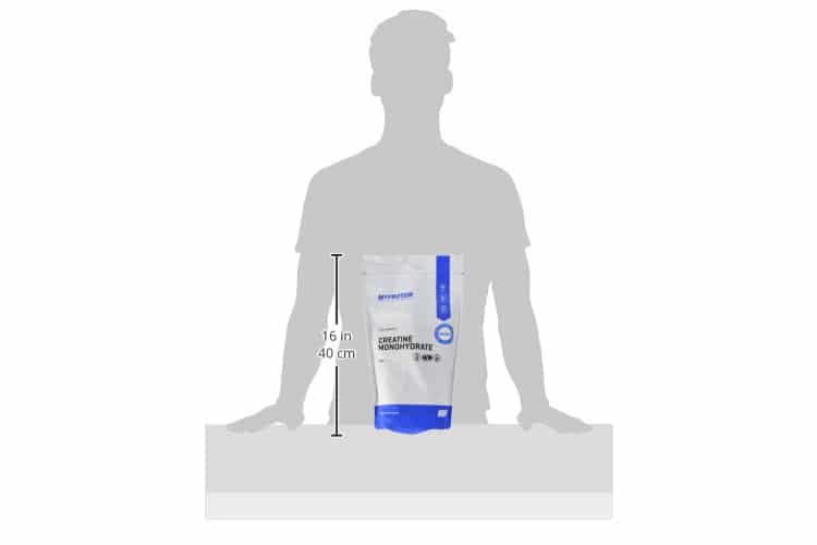 My Protein Creatine Monohydrate test