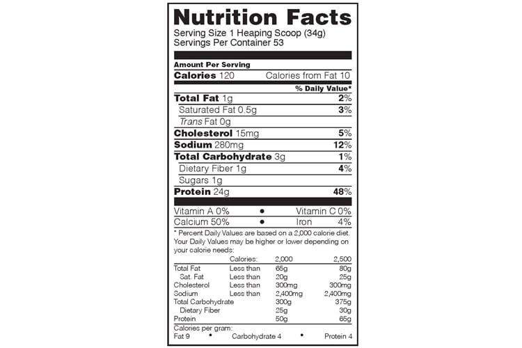 OPTIMUM NUTRITION 100% Gold Standard Casein test