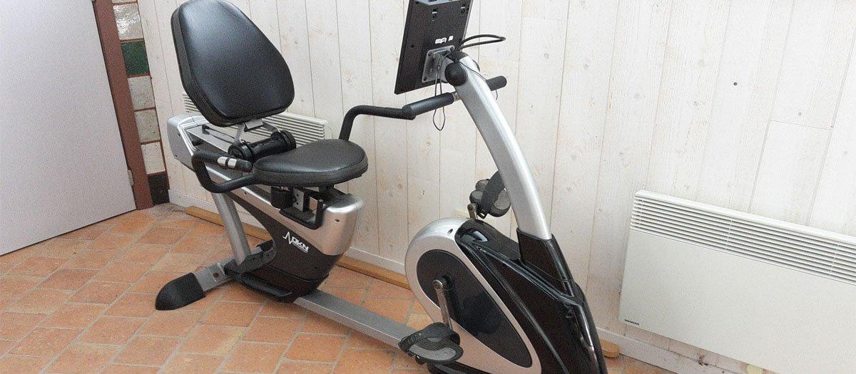 test vélo semi allongé
