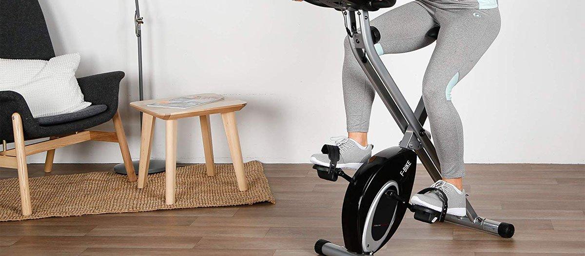 test vélo d'appartement pas cher