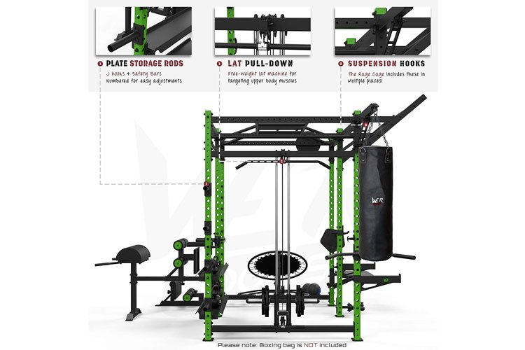 We R Sports Power Rack test