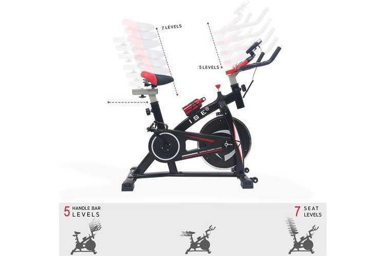 ISE Vélo de Biking test